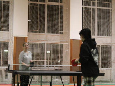 Stolní tenis proti Hradební
