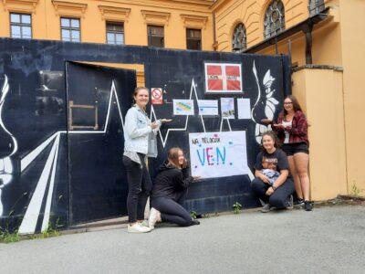 Projektový den žáků – propagace školního hřiště